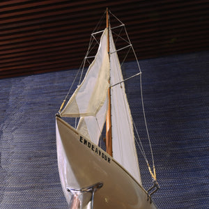 Model of The J Class Yacht 'Endeavour'