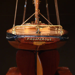 Twin Masted Schooner Pond Yacht 'Prosperous'