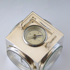 Silver Plated Weather Station
