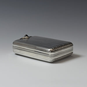 Folding Silver Cigarillo Case