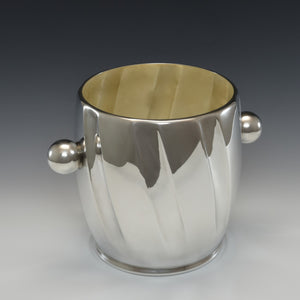 Mid Century Silver Plated Wine Cooler
