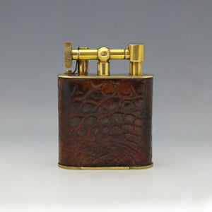 Crocodile Skin Cigar Lighter