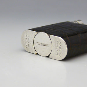 Dunhill Smaller Crocodile Skin Table Lighter