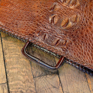 Crocodile Skin Briefcase