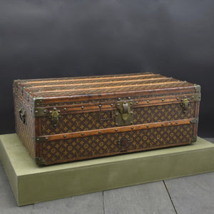 Turn of the Century Louis Vuitton Monogram Cabin Trunk