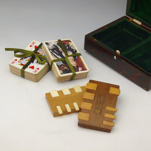 Tortoiseshell Boxed Playing Cards