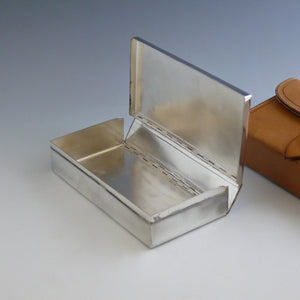 Leather Cased Sandwich Tin