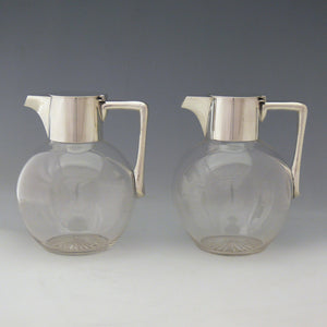 Pair of Claret Jugs