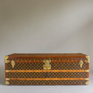 Louis Vuitton Cabin Trunk Initialed A.B.