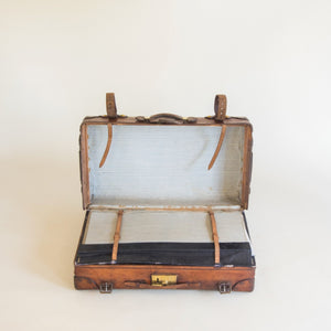 Leather Portmanteau Case