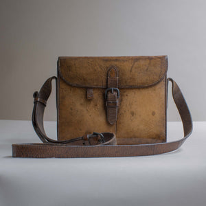 Leather Cased Hunting Canteen