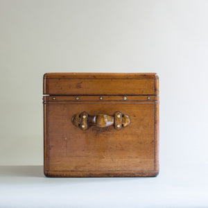 Carved Wooden Trunk/Smokers Compendium