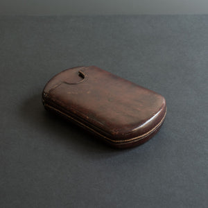 Small Leather Cigar Case
