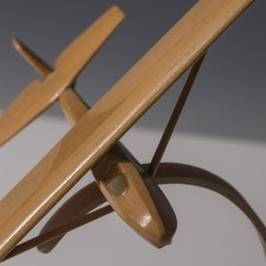 Pair of Model Wooden Gliders