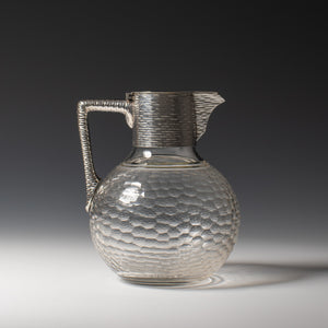 Silver and Cut Glass Claret Jug