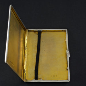 Coronation Silver Cigarette Case