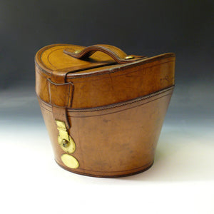 Leather Top Hat Bucket