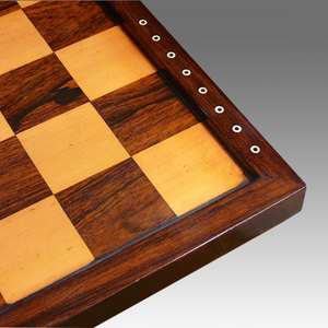 Large Victorian Rosewood Chess Board