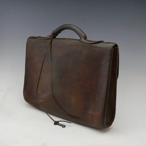 English Leather Despatch Bag