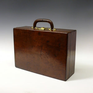 Leather Louis Vuitton Attaché Case