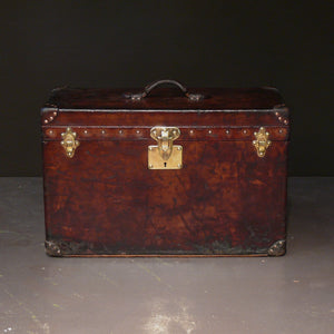 Leather Louis Vuitton Shirt Trunk