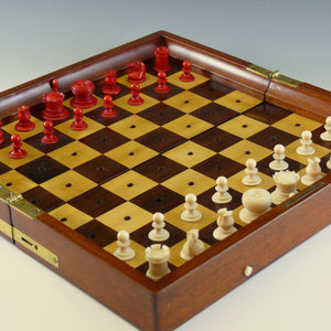 Jaques Travelling Chess Board