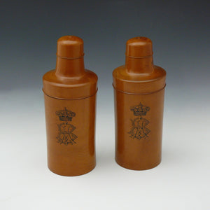 Treen Bottle Containers