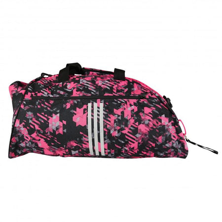 Sac de Sport Camouflage Rose Adidas Taille L