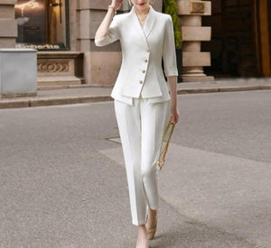 Essential Elegant Suit - RED VALENTEEN     Luxury gifts