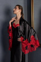Load image into Gallery viewer, Two Piece Kimono Robe sleepwear set