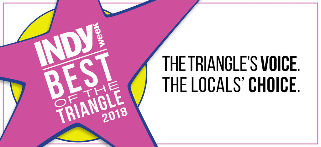 Vote for us for Best in the Triangle!