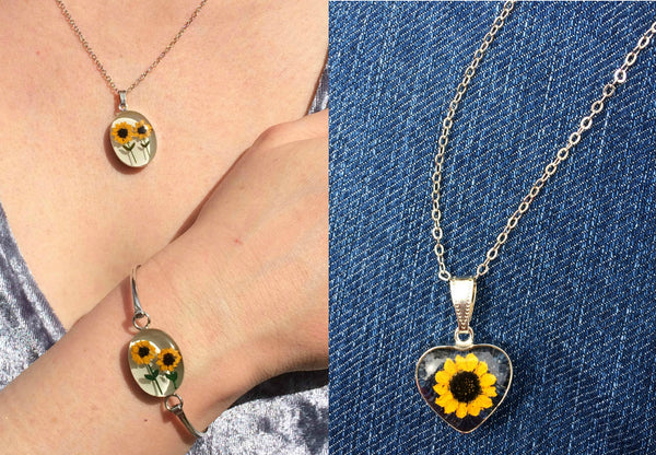 Sunflower Jewelry Update