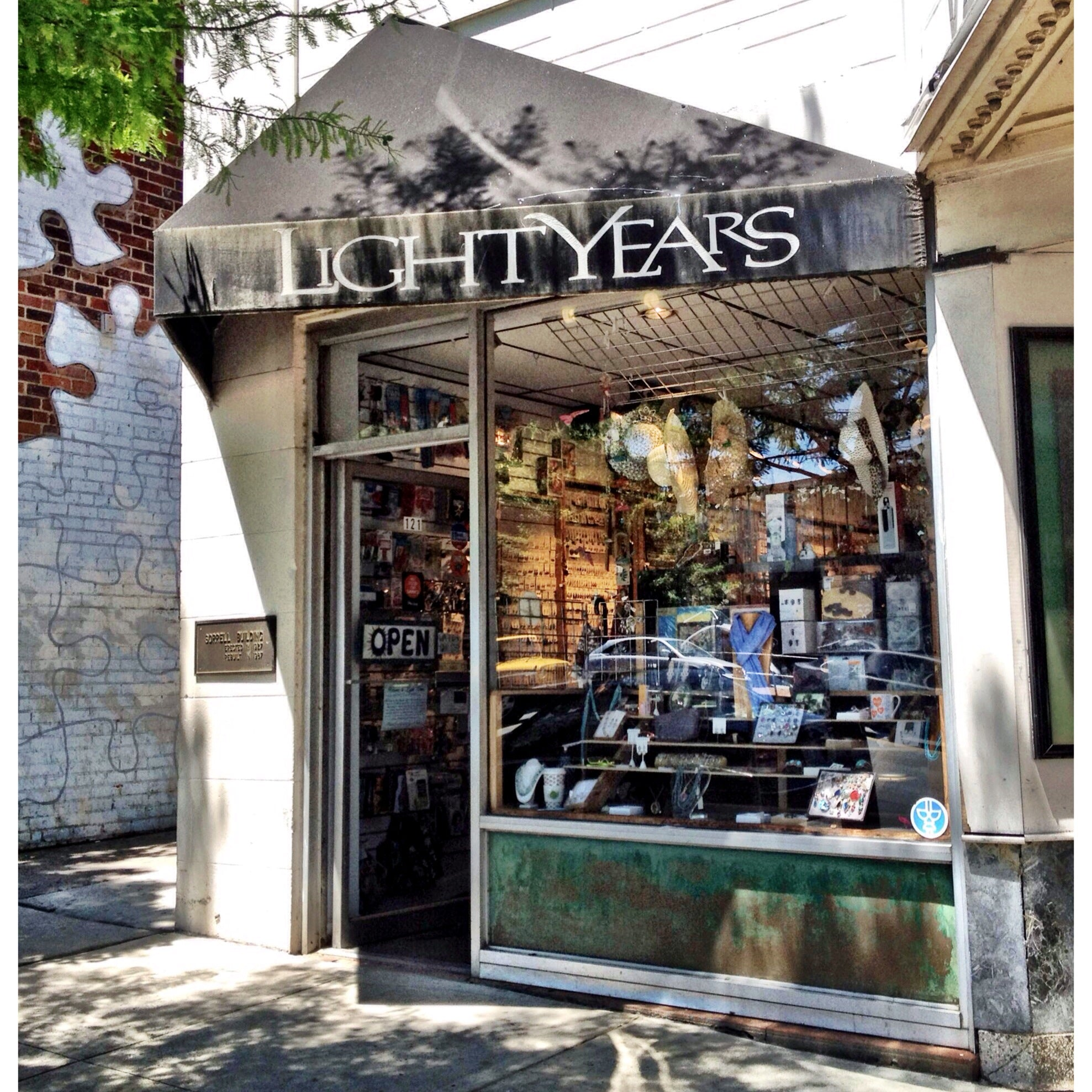 Image of the Light Years Jewelry store in Chapel Hill