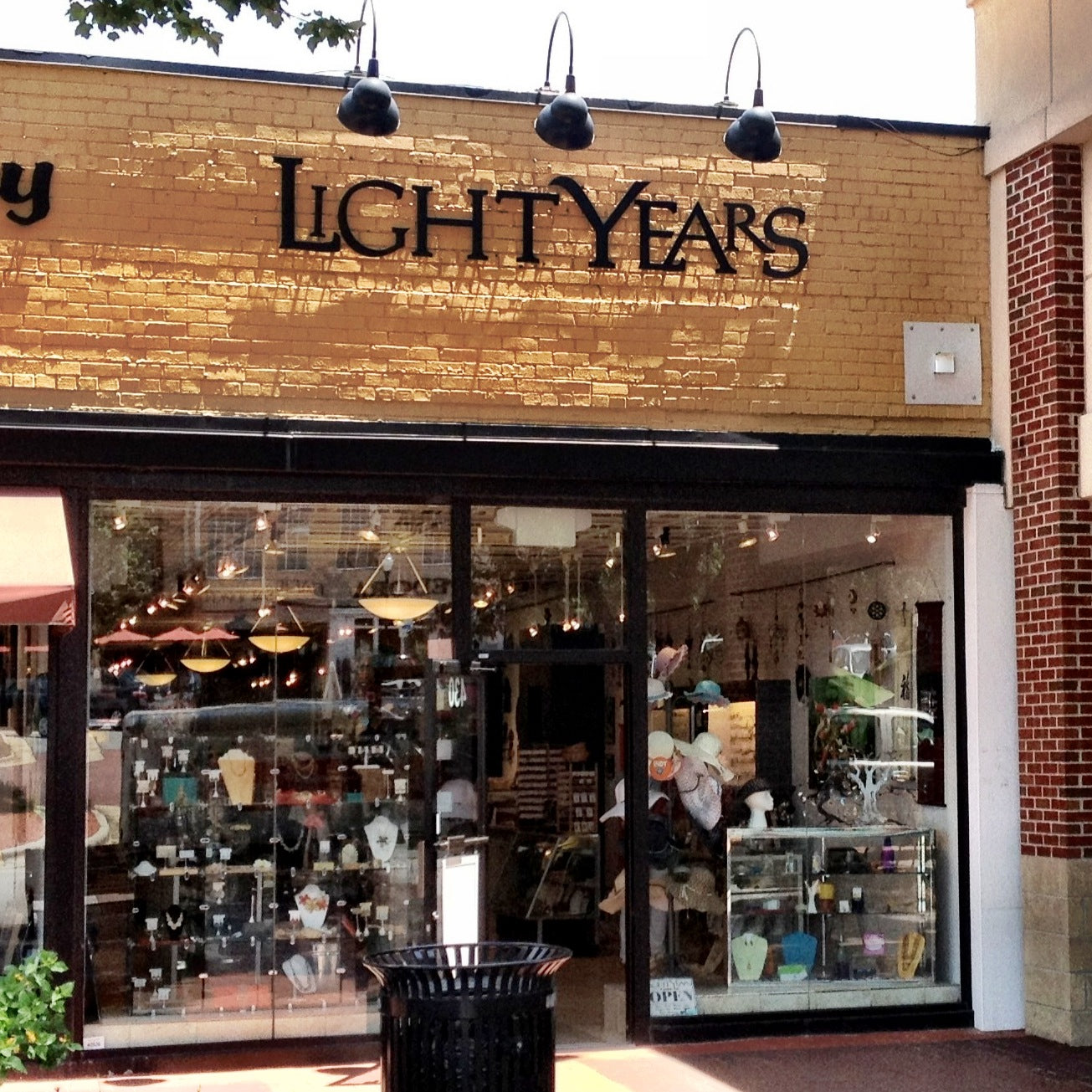 Image of the Light Years Jewelry store in Raleigh