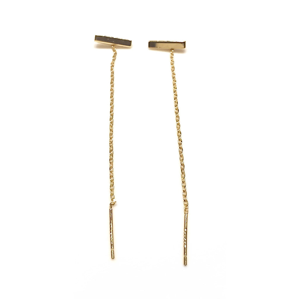 Horizontal Bar Threads $16 | Gold Vermeil | Light Years Jewelry