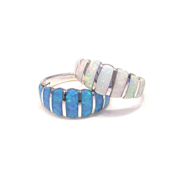 Opal Stones Ring, $32 | Sterling Silver | Light Years Jewelry