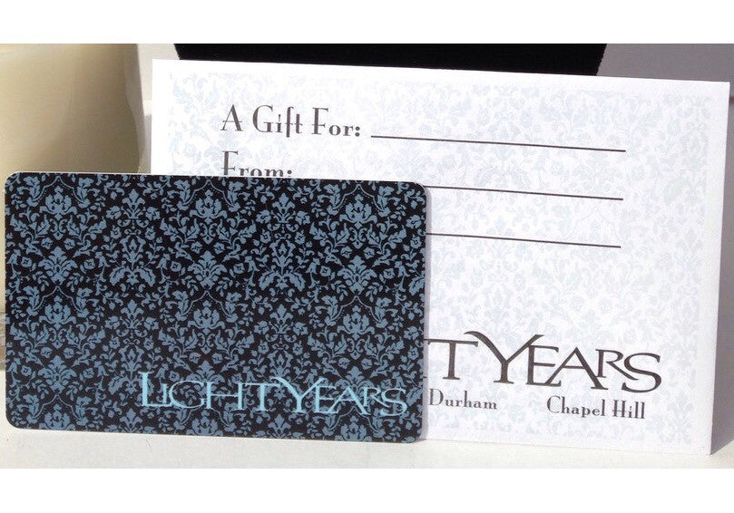 Light Years Gift Card (For Stores)