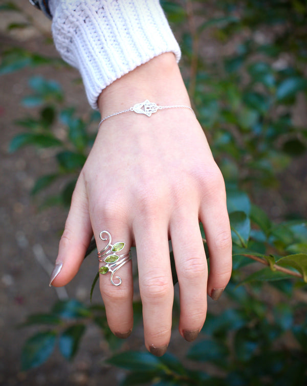 Three Stone Marquis Ring, $36 | Sterling Silver | Light Years Jewelry