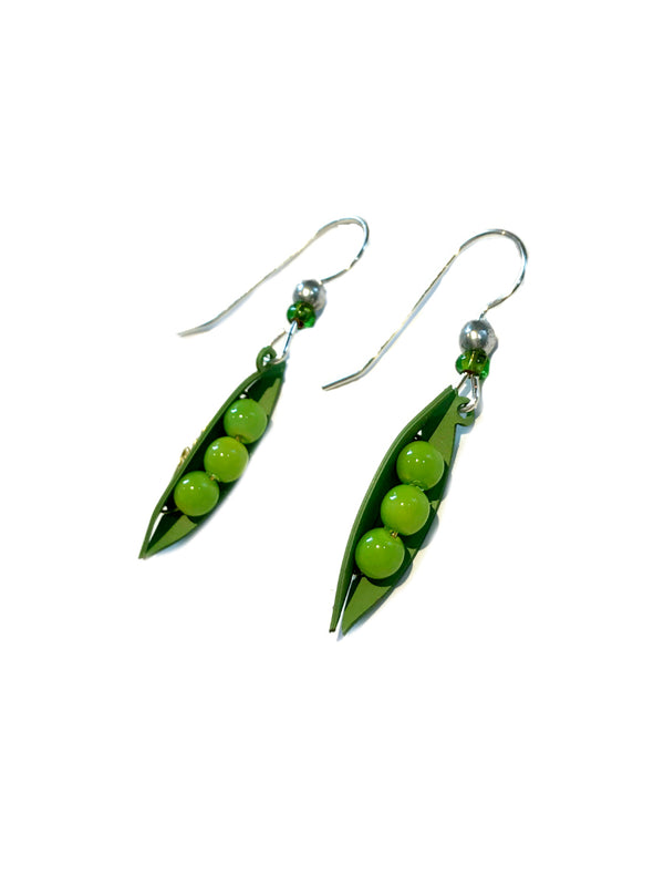 Peas in a Pod Dangles Sienna Sky | Sterling Silver Earrings | Light Years