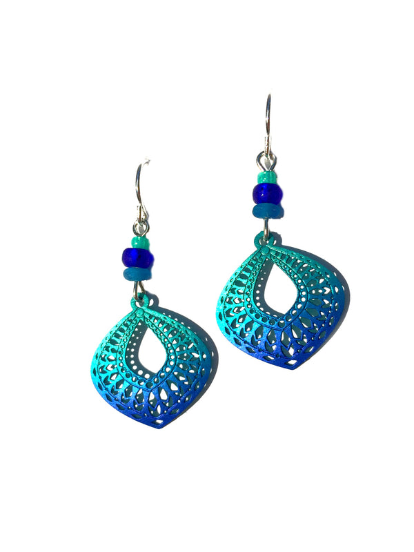 Cobalt Moroccan Drops by Adajio | Sterling Silver USA | Light Years
