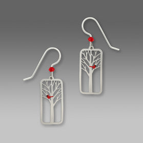 Winter Bird Earrings by Sienna Sky, $15 | USA Made | Light Years Jewelry
