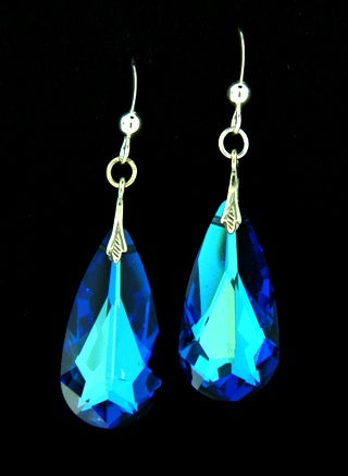 Moondrop Crystal Dangles, $32 | Sterling Silver | Light Years Jewelry