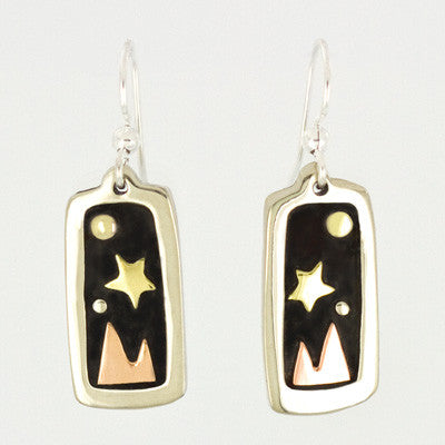Midnight Mountain Earrings