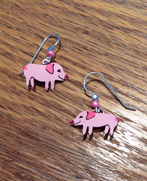 Little Piggies Earrings by Sienna Sky, $15 | Sterling Silver | Light Years