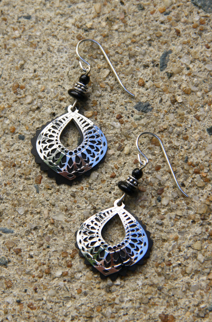 Moroccan Design Dangles by Adajio, $19 | Sterling Silver | Light Years