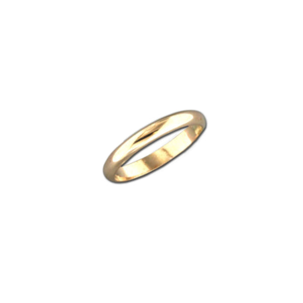 Thick 3mm Band Ring | 14kt Gold Filled Size 5 6 7 8 9 | Light Years