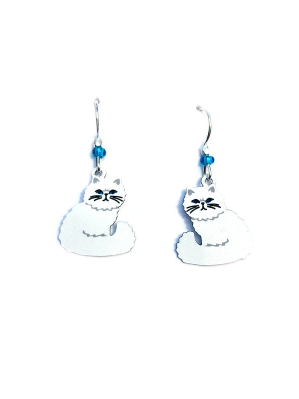Persian Cat Dangles by Sienna Sky | Sterling Silver | Light Years