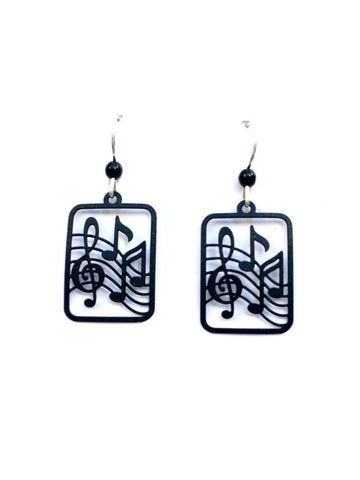Music Notes Earrings by Sienna Sky