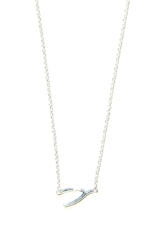 Wishbone Necklace, $17 | Sterling Silver | Light Years Jewelry