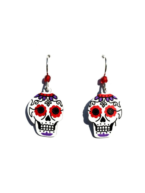 Sugar Skull Earrings by Sienna Sky | Sterling Silver USA | Light Years